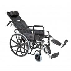 Αμαξίδιο Reclining με πλάτη ανακλινόμενη και ανυψούμενα υποπόδια – 0809236