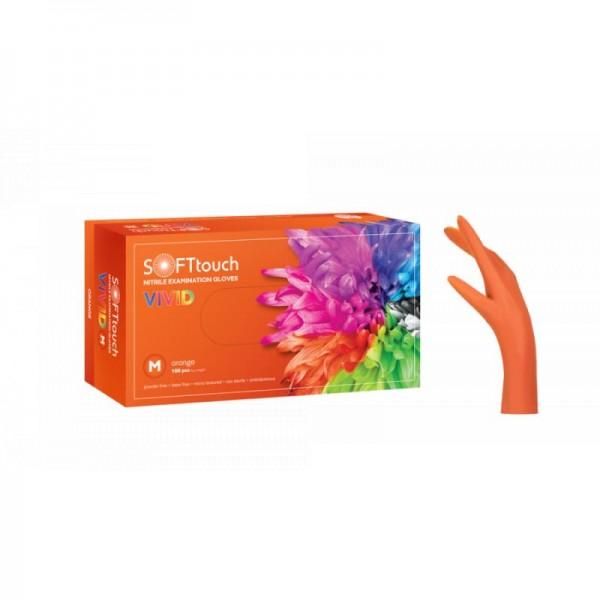 Εξεταστικά γάντια  Νιτριλίου vivid(10 συσκ.)
